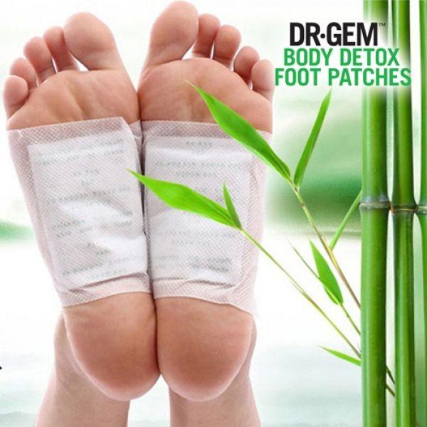 Adesivos de Detox para pés