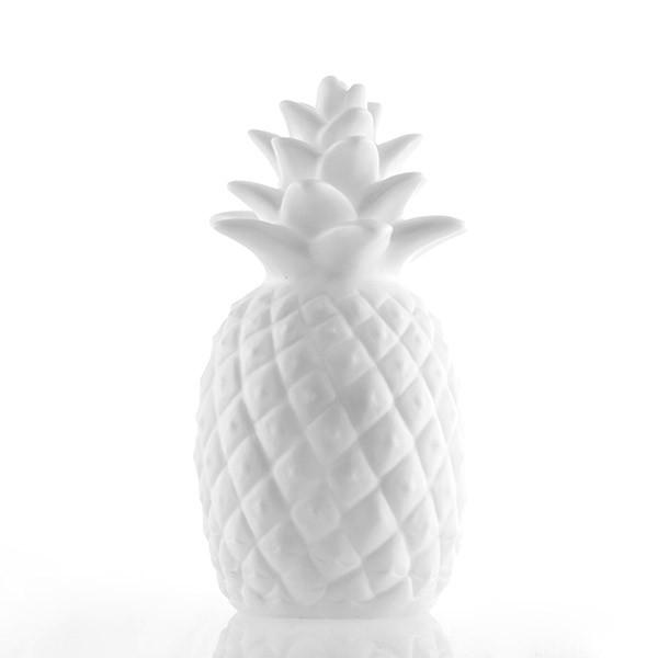 Ananás decorativo com luz Led