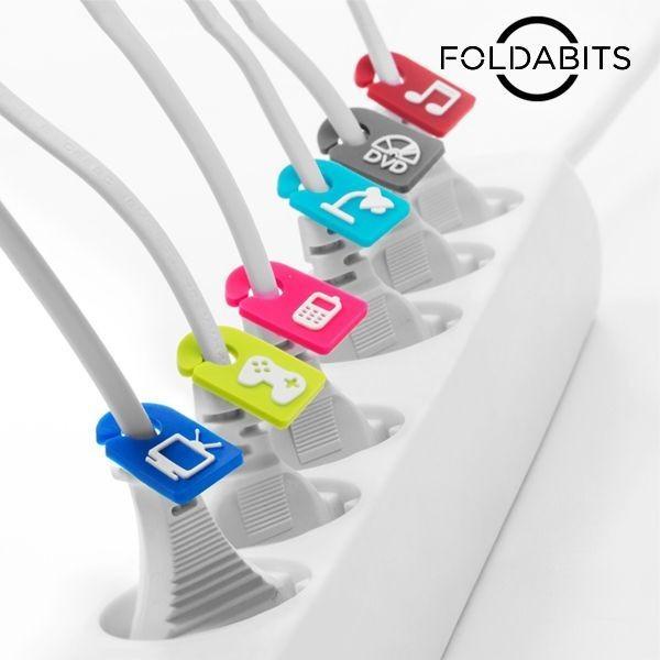 Identificadores de cabos (pack de 6)