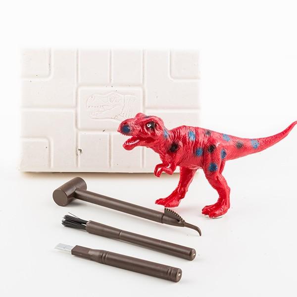 Jogo de escavação Esqueleto de dinossauros