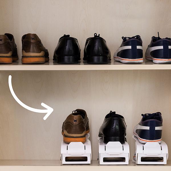 Conjunto 6 Organizadores de sapatos